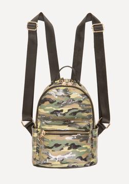 Bebe Jane Sequin Camo Backpack