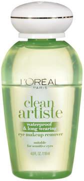 L'Oreal Clean Artiste Waterproof and Long Wearing Eye Makeup Remover