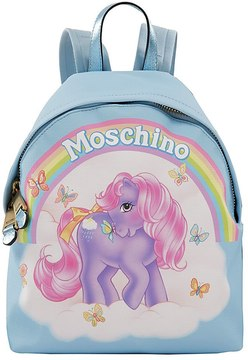 Moschino Little Pony Printed Backpack