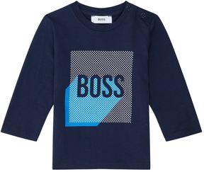 HUGO BOSS Logo Motif Sweatshirt