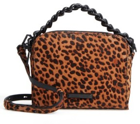 Kendall + Kylie Lucy Genuine Calf Hair Crossbody Bag - Metallic