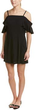 DREW Cold-Shoulder Shift Dress