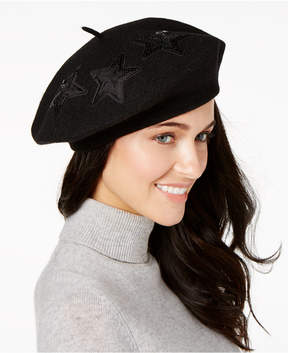 INC International Concepts Sequined Star Beret, Created for Macy's