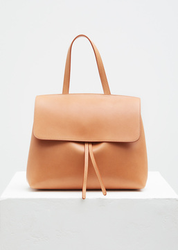 Mansur Gavriel cammello / rosa mini lady bag