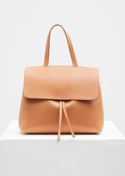 Mansur Gavriel cammello / rosa mini lady bag