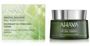 Ahava Mineral Radiance Overnight De-Stressing Cream/1.7oz.