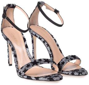 Lerre Stars Glitter And Suede Sandal