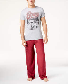 Bioworld Men's David Bowie Pajama Set