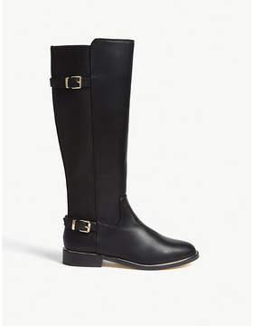 Office Kings Road faux-leather knee boots