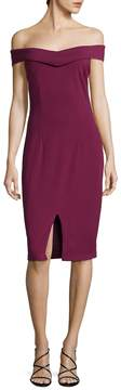 Alexia Admor Women's Solid Cocktail Dress