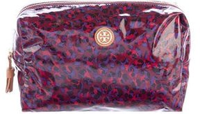Tory Burch Printed Vinyl Cosmetic Bag