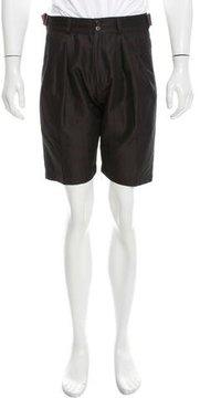 Dries Van Noten Flat Front Shorts