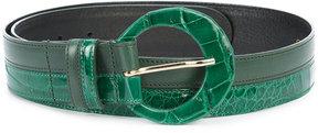 Oscar de la Renta two-tone belt