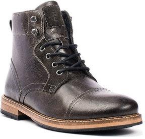 Crevo Men's Dalston Cap Toe Ankle Boot