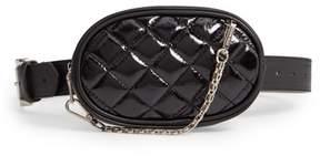 Steve Madden Quilted Faux Leather Belt Bag