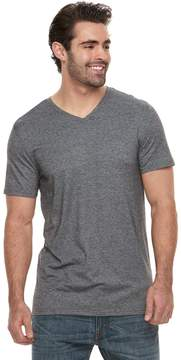 Apt. 9 Big & Tall Relaxed-Fit Striped End-on-End Stretch V-Neck Lounge Tee