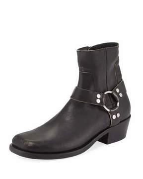 Balenciaga Leather Harness Boot