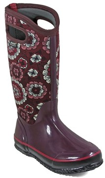 Bogs Women's Classic Pansies Waterproof Insulated Boot