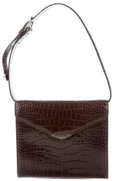 Ralph Lauren Crocodile Shoulder Bag