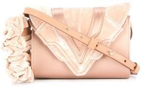 Elena Ghisellini small velvet crossbody bag