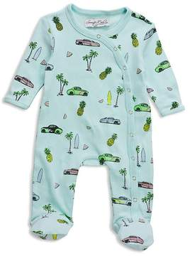 Sovereign Code Boys' Printed Crossover-Snap Footie - Baby