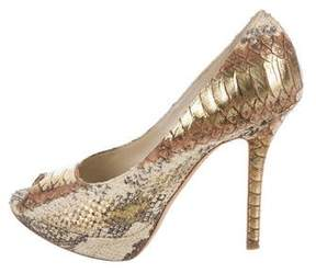 Christian Dior Embossed Miss Pumps