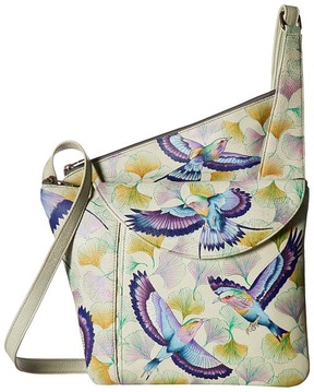 Anuschka Handbags - 552 Asymmetric Slim Crossbody Handbags