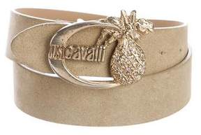 Just Cavalli Pineapple Buckle Belt