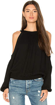 Blq Basiq Cold Shoulder Top