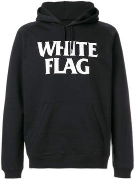 Carhartt hooded white flag sweat