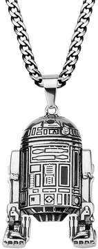 Star Wars FINE JEWELRY R2-D2 Mens 3D Stainless Steel Pendant Necklace