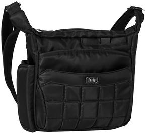 Midnight Black Flutter Mini Crossbody Bag