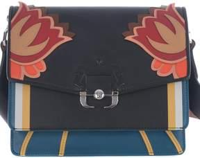 Paula Cademartori Twiggy Embroidered Shoulder Bag