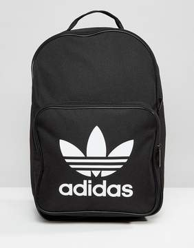 Adidas adidas Originals Trefoil Logo Backpack In Black