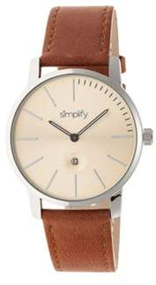 Simplify Men's The 4700 Quartz Watch.