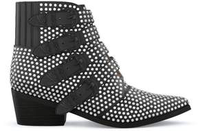 Toga Pulla studded four buckle western boots