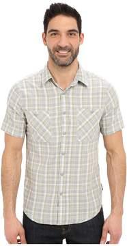 Royal Robbins Biscayne Bay Plaid Short Sleeve Shirt Men's Short Sleeve Button Up
