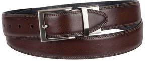 Croft & Barrow Big & Tall Double-Stitched Feather-Edge Belt
