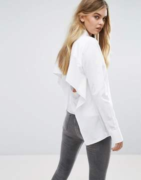 Cheap Monday Open-Back Shirt