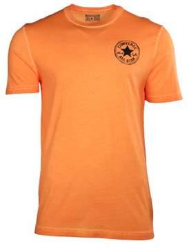 Converse Men's Chuck Taylor All Star Blurred Patch T-Shirt-Orange-XS