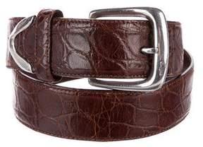 Polo Ralph Lauren Alligator Skin Belt