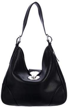 Ralph Lauren Ricky Leather Hobo