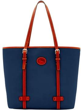 Dooney & Bourke Nylon East West Shopper Tote - NAVY - STYLE