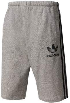 adidas Mens French Terry Athletic Sweat Shorts Grey L