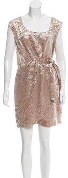Cynthia Steffe Sleeveless Velvet Mini Dress w/ Tags