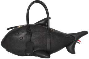 Thom Browne Pebbled Leather Shark Bag