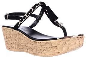 Callisto Womens Tella Split Toe Formal T-strap Sandals.