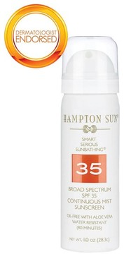 Hampton Sun Spf 35 Continuous Mist 1 Oz.
