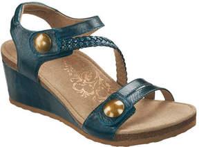 Aetrex Women's Naya Braid Wedge Sandal