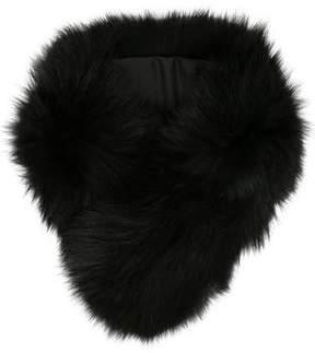 Adrienne Landau Fur-Trimmed Stole w/ Tags